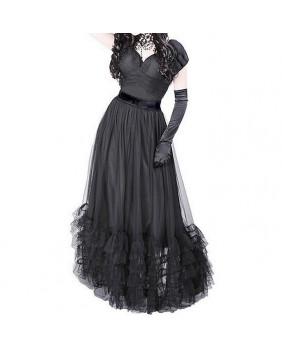 Robe longue Rétro Gothique