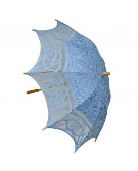 Ombrelle gothique bleue
