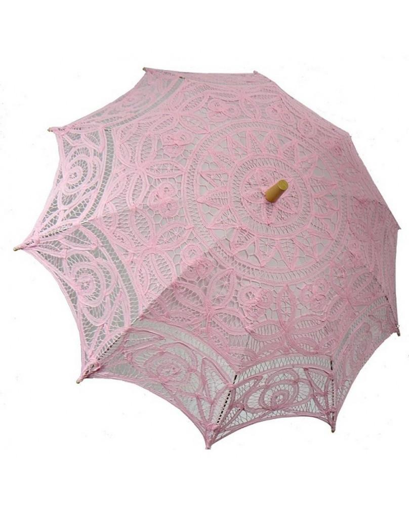 Ombrelle gothique rose
