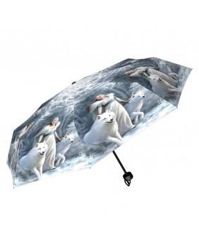 Parapluie gothique fantaisie Winter Guardians