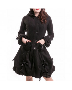Manteau gothique noir Alice