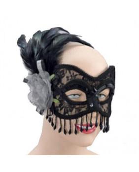Masque gothique Silver Rose