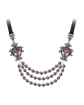 Collier gothique Palatine Pearls