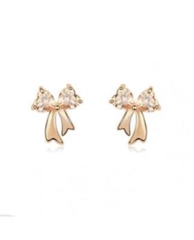 Boucles d'oreilles avec pierre zircon