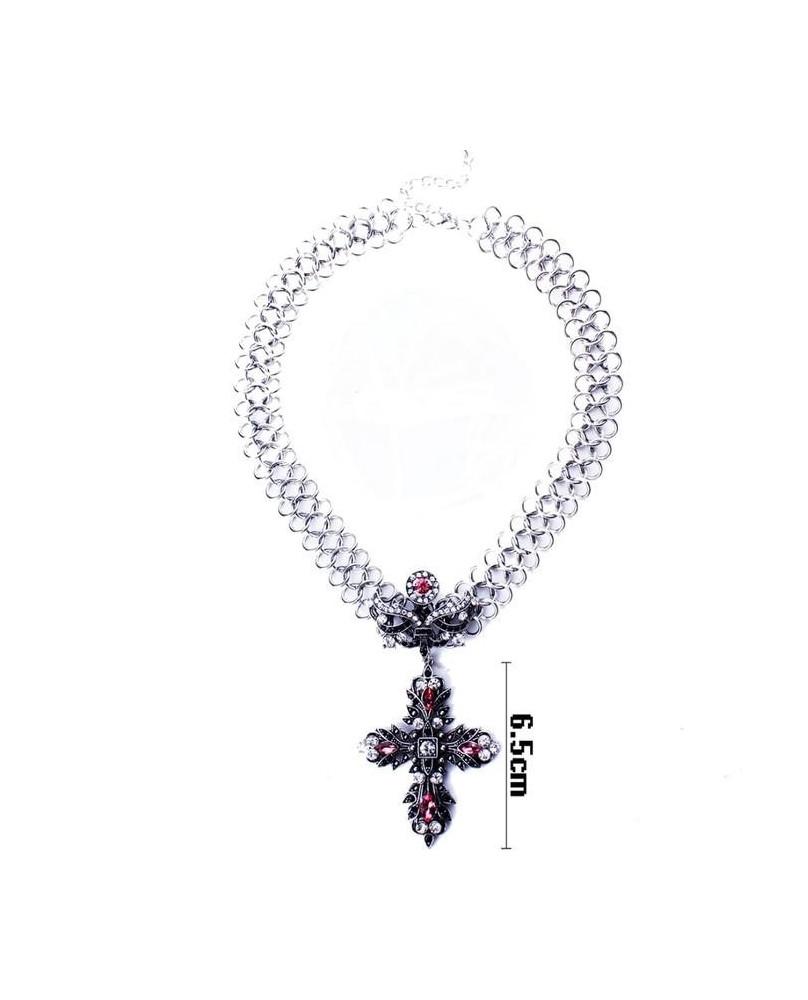 Collier pendentif Vintage Cross