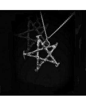 Pendentif Pentagramme vieilli