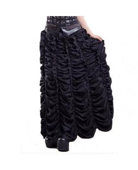 Jupe gothique longue noire
