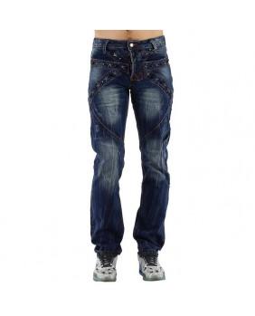 Jeans bleu avec étoiles