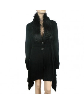 Veste gothique noire Cara