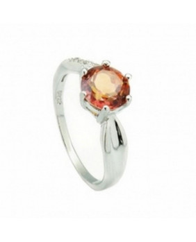 Bague gothique orange