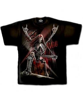 Tee shirt gothique Metal Head