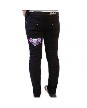 Pantalon skinny Darkside Bow