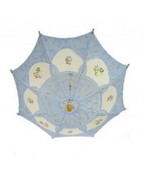 Mini ombrelles gothique bleu
