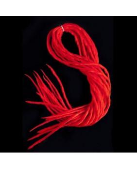 Lot de Dreads rouge