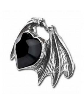 Bague gothique Draco Blackheart