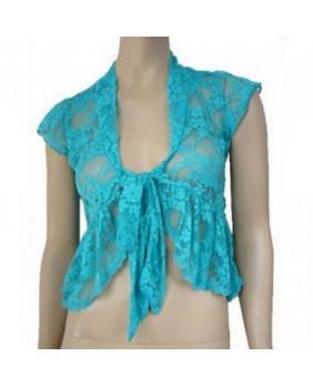 Bolero fashion bleu