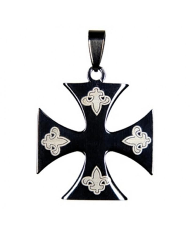 Pendentif gothique Lys Cross