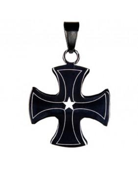 Pendentif gothique Star Corss