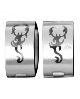 Boucles d'oreilles Scorpion