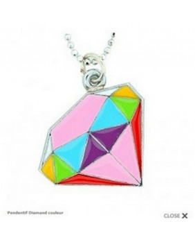 Pendentif Diamant couleur