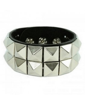 "Bracelet rock "" 2 square black """