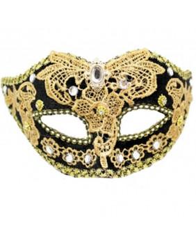 Masque gothique Black Gold