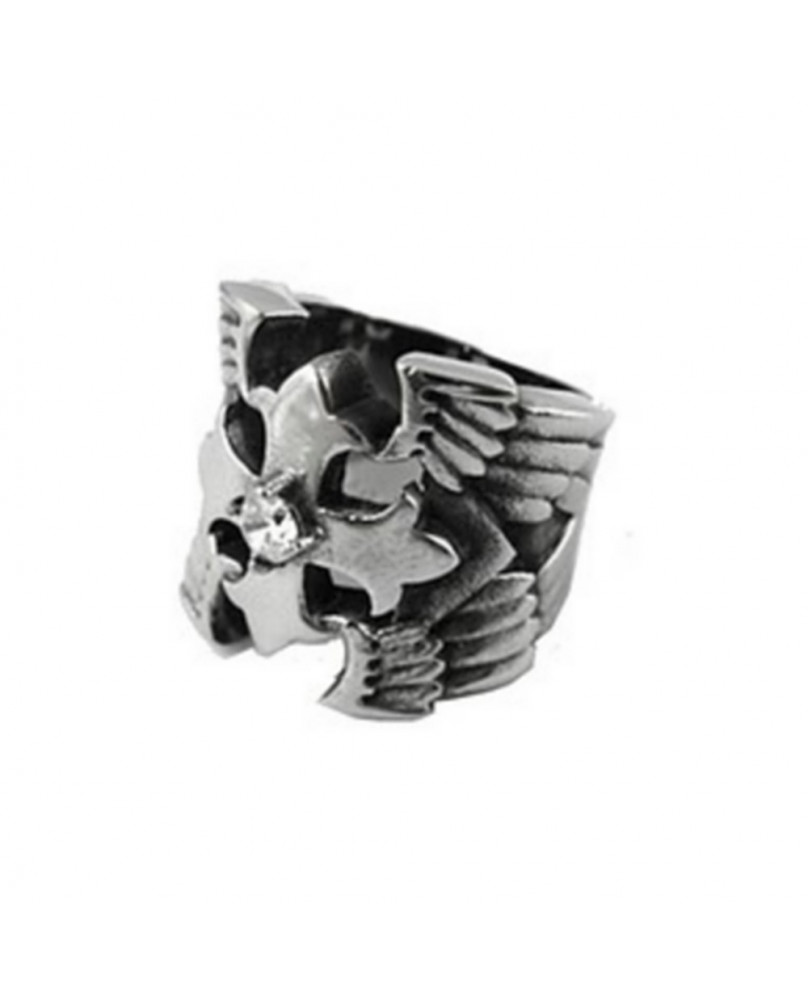Bague gothique stainless steel 1085