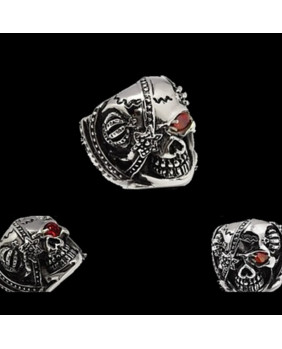 Bague gothique stainless steel 1673