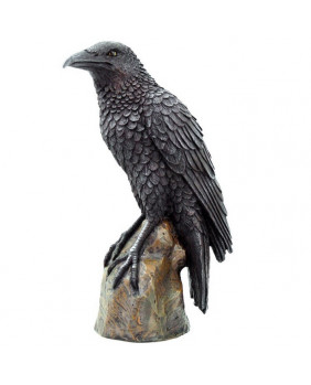 Statuette corbeau Ravens Rest