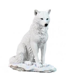 Figurine loup blanc Ghost Wolf