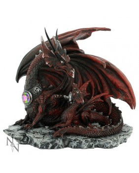 Figurine dragons rouges Mother Lair