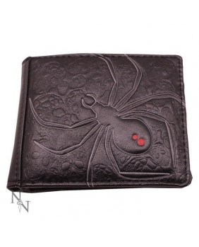 Portefeuille gothique Black Widow