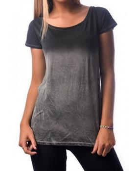 T-Shirt rock felle coton délavé