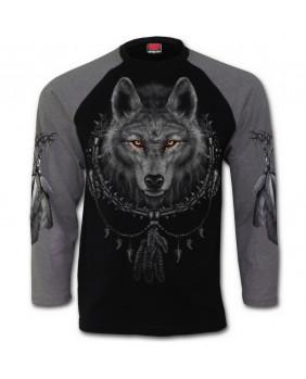 Haut loup noir et gris Wolf Dream