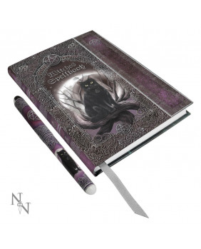 Journal intime et stylo Witches Spell Book