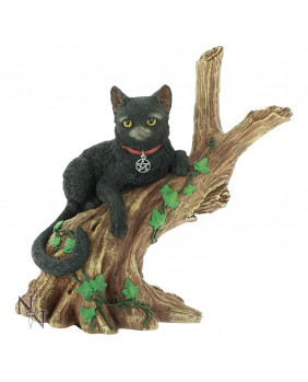 Figurine gothique chat Onyx