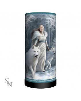 Lampe gothique fantaisie Winter Guardians