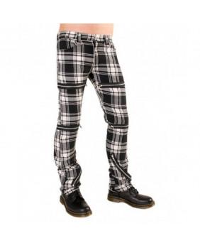 Pantalon punk goth écossais Black Pistol