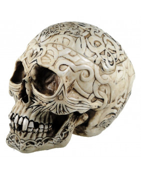 Boite crâne tribal