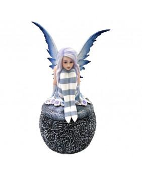 Boite statuette fée Ariana's Wish