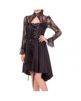 Robe gothic steam Black Betty