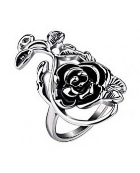 Bague romantique Rose flower