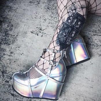 Chaussure compensée