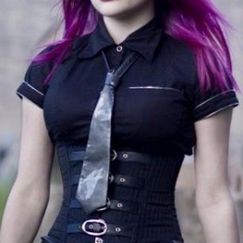 Cravate Gothique