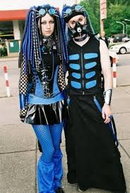 Vetement cyber goth homme