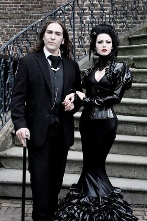 Vêtements victoriens gothiques