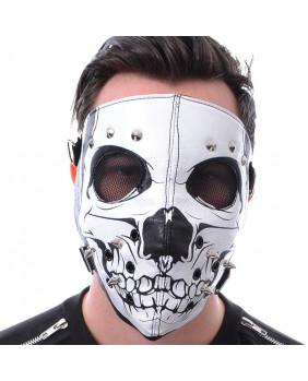 Masque  goth SKULL FACE - POIZEN