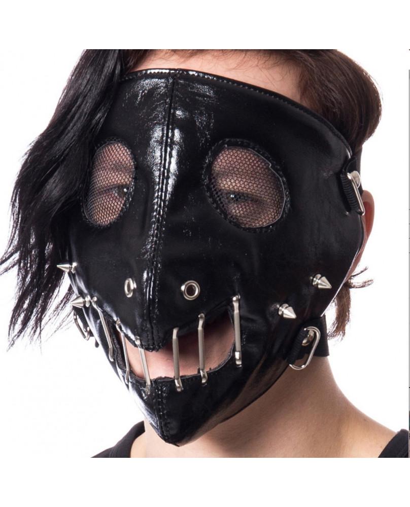 Masque face noir HANNIBAL - POIZEN