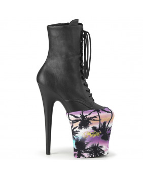 Demonia KERA-08 chaussures plateformes Gothiques blanches