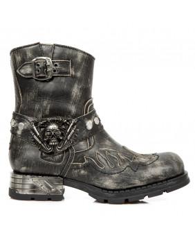 New M Rock Noires Collection De S1 Biker La Boots 7605 7Sq65
